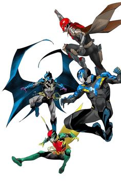 Batgirl, Nightwing, Catwoman, Dc Costumes, Family Costumes, Comic Books Art, Comic Art, Dan Mora, Comic Character