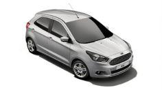 Ford KA+ in Ingot Silver colour