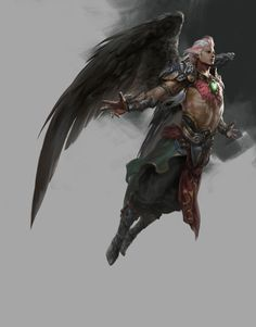 Angel, Du Showwhy on ArtStation at http://www.artstation.com/artwork/angel-6d7fa023-efb7-4cd8-8960-afb787cd0894