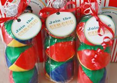 Vintage Circus Party Favors #circus #partyfavors