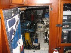 Good storage for engine room