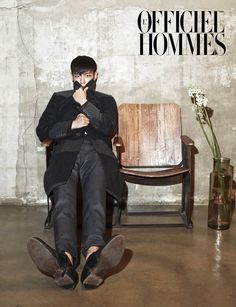BIGBANG's T.O.P L'Officiel Hommes Korea Magazine November 2013