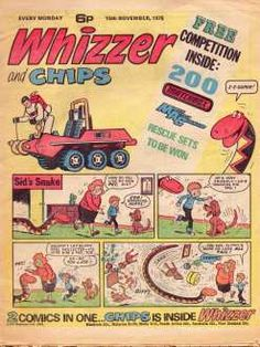 Whizzer & Chips #70scomics
