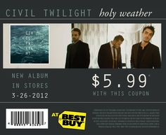 Civil Twilight - Holy Weather (2012)
