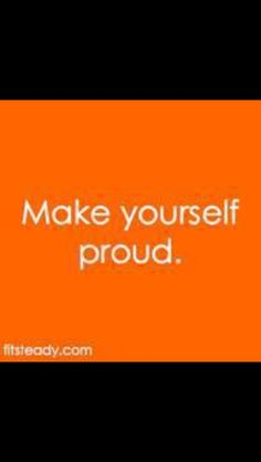 I am proud, are you?
