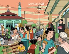 Illustration and animation for special day content Religion, Behance, Animation, History, Drawings, Illustration, Anime, Poster, Profile