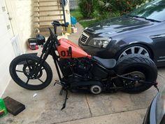 Night Train springer bobber styled - Page 71 - Harley Davidson Forums #harleydavidsonsoftailnighttrain