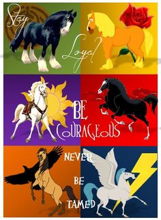 lessons learned from disney horses! I'd rather have the horses than the main human characters!