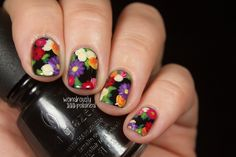 wondrouslypolished:  Floral print up on the blog now :) http://bit.ly/1cUxEhJ  gorgeous!