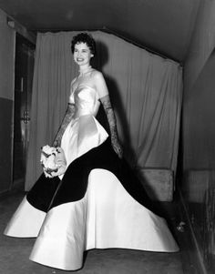 Gloria Vanderbilt in Charles James, 1953