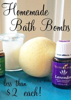 Homemade bath bombs with Young Living Essential OilsDIY_Bath_BombsSimple DIY bath bombs!These simple DIY bath bombs are fantastic and only took a few minutes! Thanks to the essential oils they smell so good . Yl Essential Oils, Young Living Essential Oils, Essential Oil Blends, Essential Oil Bath Bombs, Yl Oils, Bath Boms Diy, Homemade Bath Bombs, Diy Bath Bombs, Bath Bomb Recipes