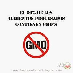 Diseñando tu Salud : Como evitar productos que contengan GMO's?