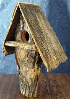 Rustic Birdhouses | Projects, tips, inspiration & creative ideas