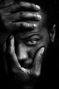 """♂ Black & white photography man portrait """"Take my face"""""""