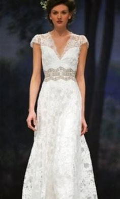 Claire Pettibone Brigitte: buy this dress for a fraction of the salon price on PreOwnedWeddingDresses.com