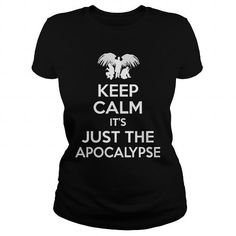 Awesome Tee SPN Keep calm it just the apocalypse T-Shirt