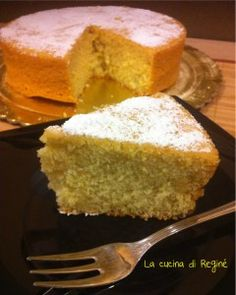 #Torta Nuvola# La cucina di Reginé Dairy Free Recipes, Baby Food Recipes, Sweet Recipes, Cake Recipes, Cooking Recipes, Healthy Recipes, Cakes Without Butter, Sweet Light, White Cakes