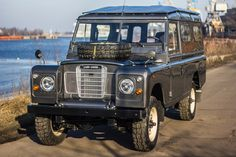 a very nicely refurbished Series III Land Rover 109