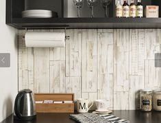 mywoodwall™ is a fast and easy-to-install wood wall paneling system, made from sustainable sources. Timber Wall Panels, Timber Walls, Timber Panelling, Wood Panel Walls, Wooden Walls, Wood Paneling, Stick On Wood Wall, Peel And Stick Wood, Diy Wood Wall