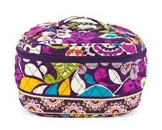 Vera Bradley Home and Away Cosmetic Plum Crazy *** See this awesome image  : Travel cosmetic bag