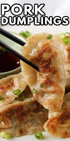 Pork Wonton Recipe, Wonton Recipes, Appetizer Recipes, Homemade Dumplings, Dumpling Recipe, Asian Pork Dumplings Recipe, Chinese Dumplings, Steamed Dumplings, Pasta