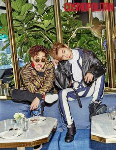 """""""Monsta X for Cosmopolitan Korea"""""""