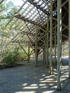 Crosby Arboretum, Pinecote Pavilion by toml1959, via Flickr
