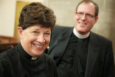 ELCA Presiding Bishop Elizabeth Eaton with her husband Conrad Selnick, priest of St. Christopher's by the River Episcopal Church in Gates Mill, Ohio. To learn more about the ELCA or to find and ELCA congregation go to ELCA.org