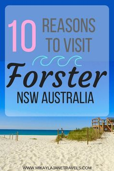 10 Reasons To Visit Forster NSW Australia This Weekend!   Best Things To See and Do In NSW Australia   Places To Visit In NSW Australia   Travel Tips For Australia   www.mikaylajanetravels.com