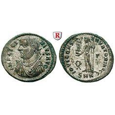 Römische Kaiserzeit, Licinius I., Follis 317-320, st: Licinius I. 308-324. AE-Follis 21 mm 317-320 Cyzikus. Büste l. mit… #coins