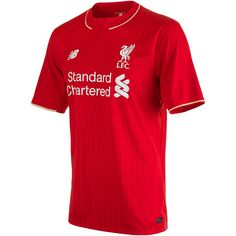 New Balance Youth Liverpool Home Jersey 15/16