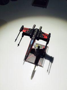 X wing miniature repaint - Black x wings