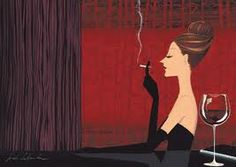 A smoke and a little bit of wine