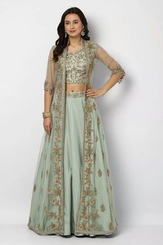Apr 2020 - 41 Smashing Karva Chauth Outfit Ideas: Trendy and Traditional 41 Smashing Karva Chauth Outfit Ideas: Trendy and Traditional Party Wear Indian Dresses, Designer Party Wear Dresses, Indian Gowns Dresses, Indian Fashion Dresses, Dress Indian Style, Pakistani Dresses, Indian Fashion Trends, Indian Western Dress, Indian Fashion Modern
