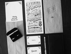 Our Wedding Invitation byLudvig Nevland