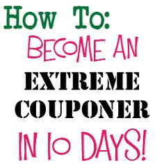 30 by 30 - extreme coupon-er