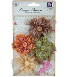 Prima Marketing Guava Peony Flowers 6Pk-MANY COLORS : Flowers : Embellishments : scrapbooking :  Shop | Joann.com