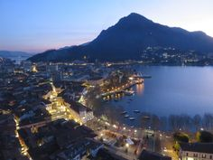 An excellent way to see Lecco and Lake Como is from above atop the bell and clock tower Campanile di San Nicolò. This is Lecco's top tourist attraction but is Lake Como Italy, San Francisco Skyline, Tourism, Tower, Travel, Outdoor, Turismo, Outdoors, Rook