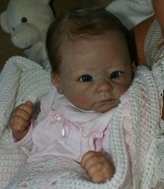 ADORABLE REBORN BABY GIRL~ AMELIA ~ from Andi Awake by Linda Murray