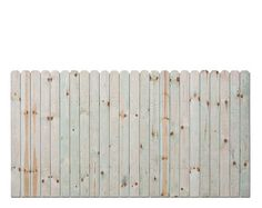 4'H x 8'W Dog-Eared Treated Fence Panel    $22.97 total $275.64