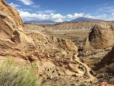 Capitol Reef National Park, Grand Staircase - Burr Canyon Road Part 1 | Park Family Insurance Protection Blog