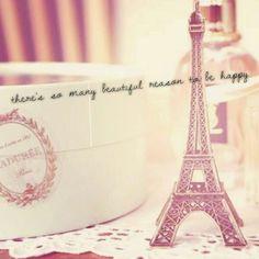 There'so many beautiful reason to be happy