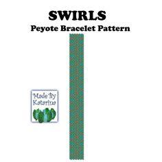 Peyote Muster Wirbel SOFORT-DOWNLOAD PDF von MadeByKatarina