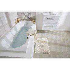 Baignoire rectangulaire Access SENSEA, acrylique, 170x70 cm