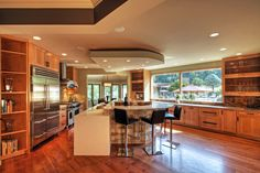 A Chesterfield modern kitchen remodel is the ultimate in luxury and efficiency.