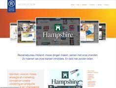 ontwerp website: http://www.reclamebureauholland.nl/ Jochem Albrecht. Reclamebureaus en ontwerpbureaus