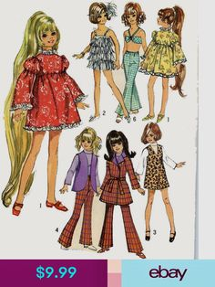 caafe42773 Ideal Dolls  ebay  Collectibles 60s Patterns