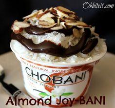 ~Almond Joy-BANI…and a CHOBANI giveaway!