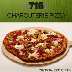 CHARCUTERIE PIZZA: Our Signature Homemade Pizza Dough topped with ...