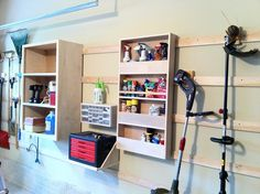Chad's Workshop: French cleat storage - how to